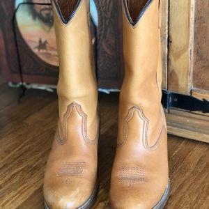29a1be15fcf Vintage Cowboy Boots Vibram Resistant-Oil Size 7.5